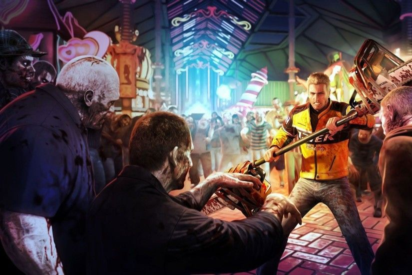 Games Wallpapers - Dead Rising 2 - Zombies Fight wallpaper