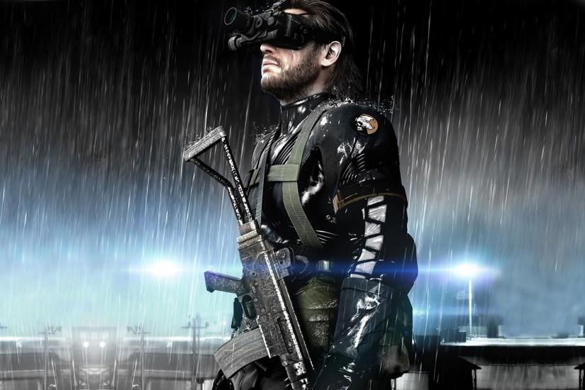 Metal Gear Solid V: Ground Zeroes, Big Boss, Video Games Wallpaper HD