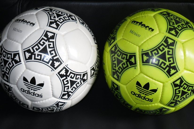 yellow made in France 1 adidas Azteca Mexico 1986 FIFA World Cup official  match ball soccer
