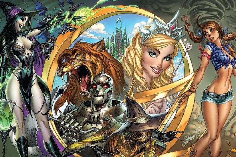 5 Grimm Fairy Tales: Oz Wallpapers | Grimm Fairy Tales: Oz Backgrounds