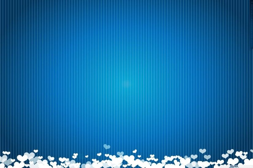 Love Heart Blue Wallpapers