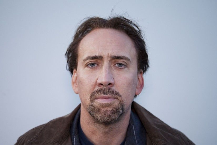 Preview wallpaper nicolas cage, actor, face, look, bristle 2560x1440