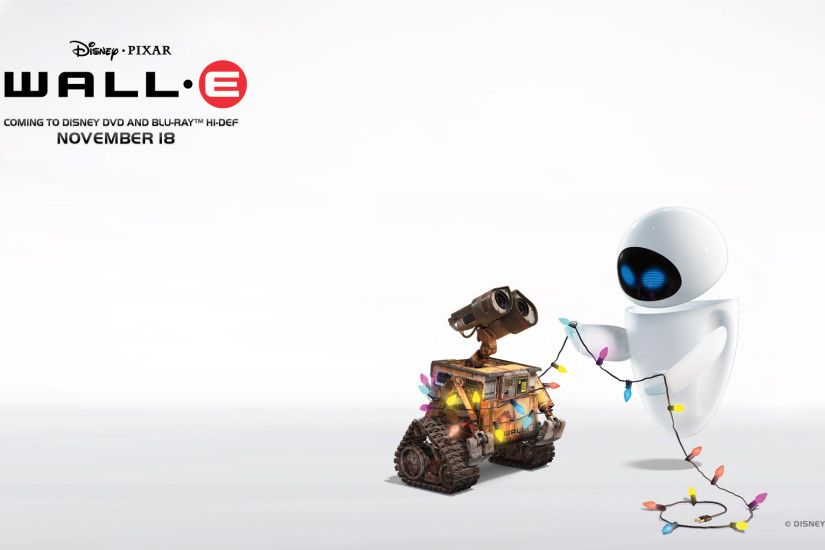 Wall E Christmas wallpaper