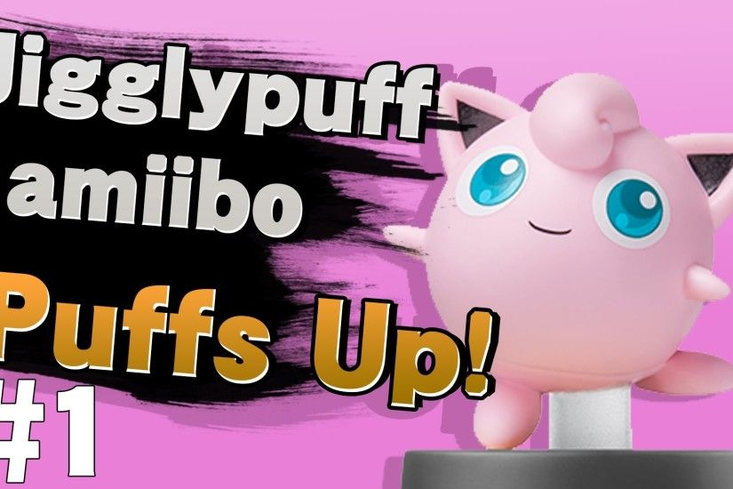 Jigglypuff amiibo Training #1 - Super Smash Bros. Wii U