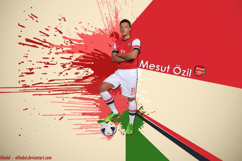 Mesut Ozil Wallpaper by elifodul