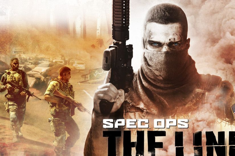 Preview wallpaper spec ops the line, yager development, shooter, soldiers,  weapons,