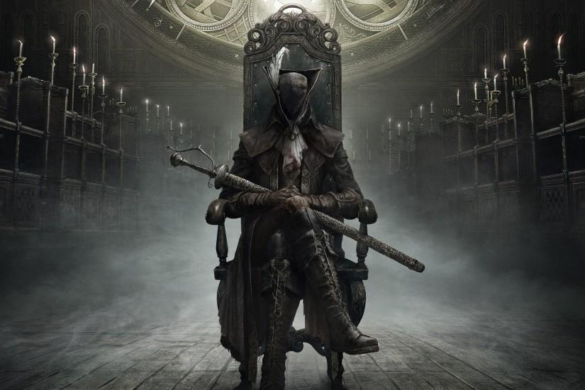 Bloodborne The Old Hunters 2048x1152 Resolution