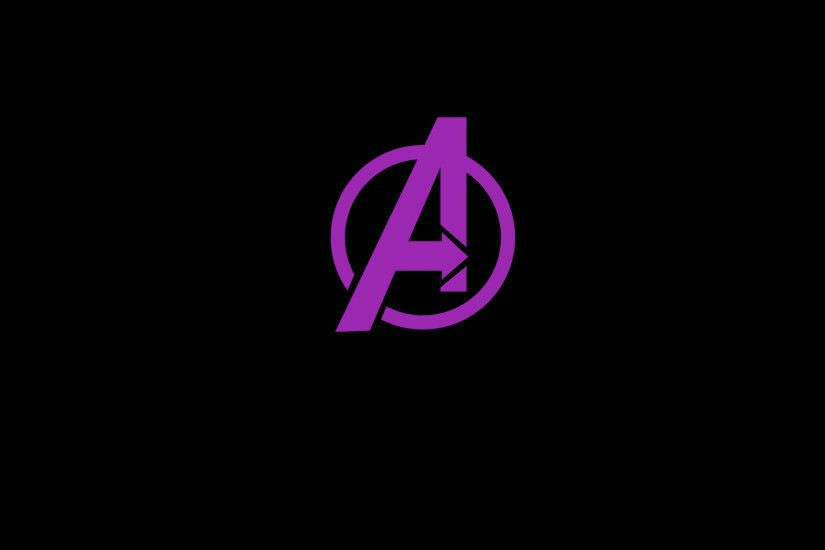 Avengers logo wallpaper in black on white – HD, retina ready, and  minimalistic. Want more awesomeness for your screen? Be sure to check out  my other free ...