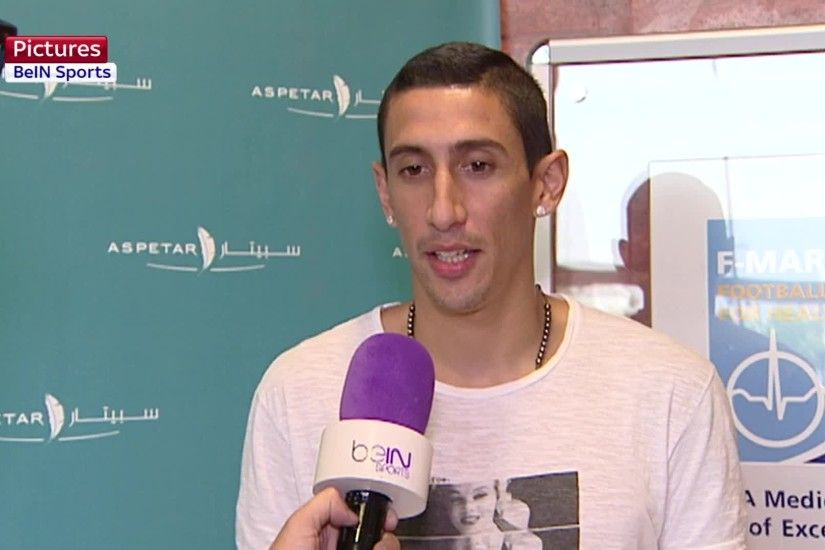 Angel Di Maria is 'very happy' to join PSG from Manchester United