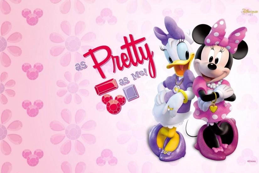 Daisy Duck And Minnie Mou.