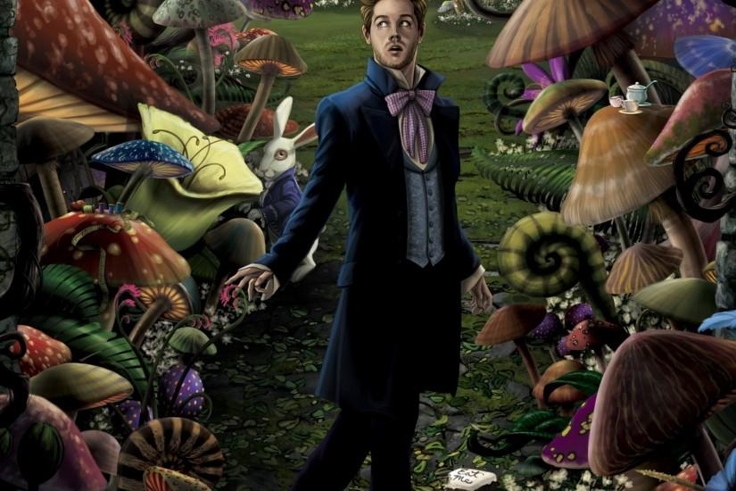 top alice in wonderland wallpaper 2048x1536