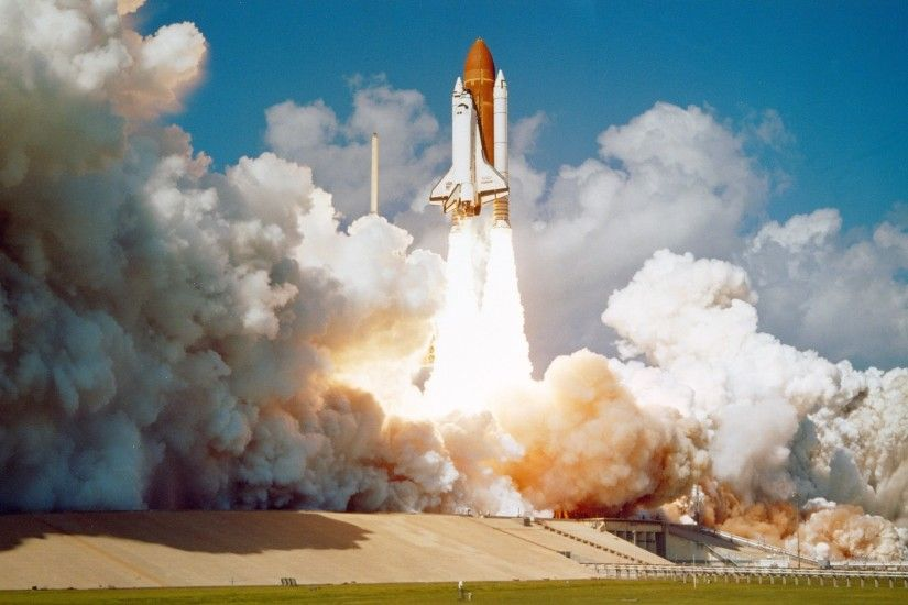 Challenger Space Shuttle, Launch, rocket, space travel vehicle
