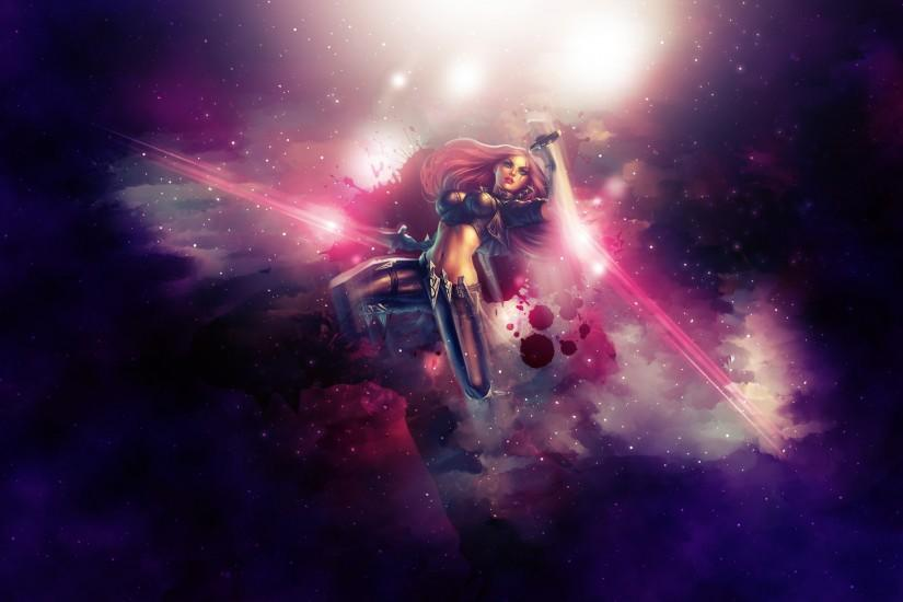 ... Katarina ~ League of legends - Wallpaper by Aynoe