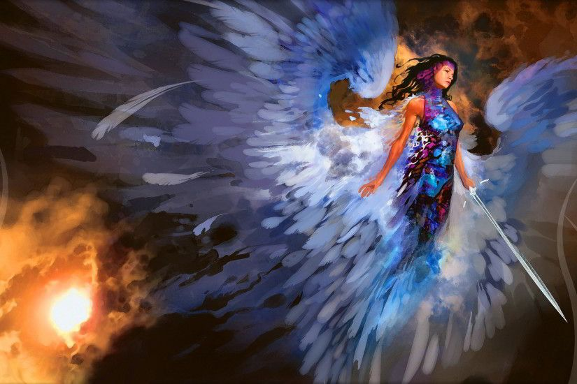 Magic the gathering angel Wallpapers Pictures Photos Images