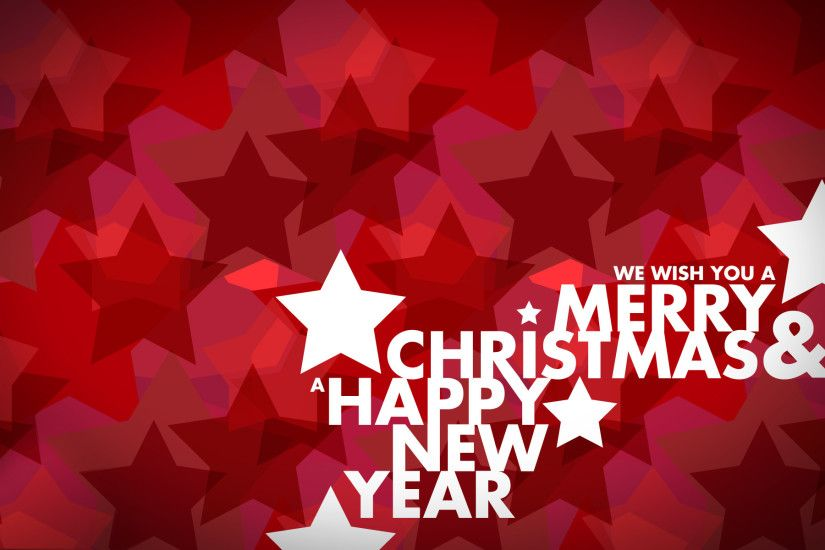 Beautiful Merry Christmas and Happy New Year Background.