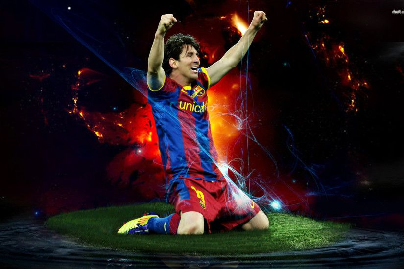 Lionel Messi Barcelona Football Wallpaper HD - Football Wallpapers -  http://www.