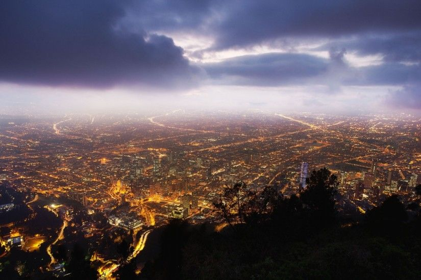 Preview wallpaper bogota, colombia, night, view from the top 1920x1080