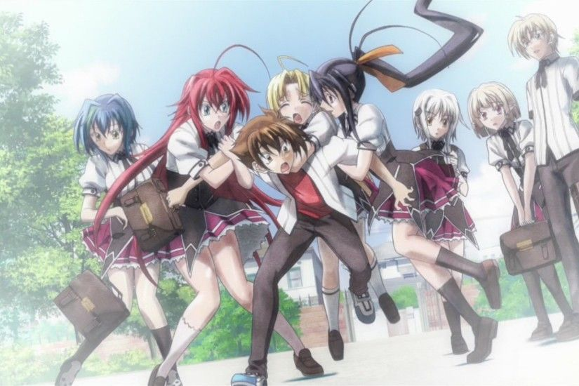 Image - Occult Research Club - New finale.jpg | High School DxD Wiki |  FANDOM powered by Wikia