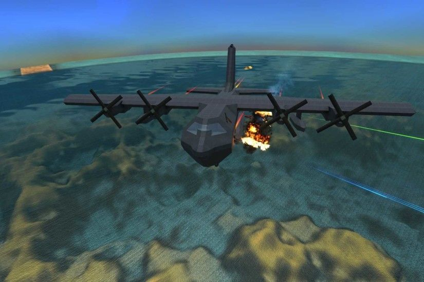"AC-130U ""Spooky"" Gunship with workshop link ..."