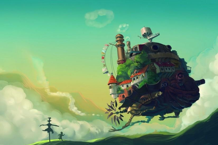 DOWNLOAD · Facebook Twitter Google+ Pinterest LinkedIn Reddit Delicious  StumbleUpon Tumblr Share. Tags: Howls Moving Castle HD Wallpaper