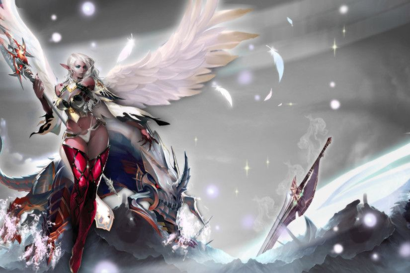 Lineage II Widescreen Wallpaper