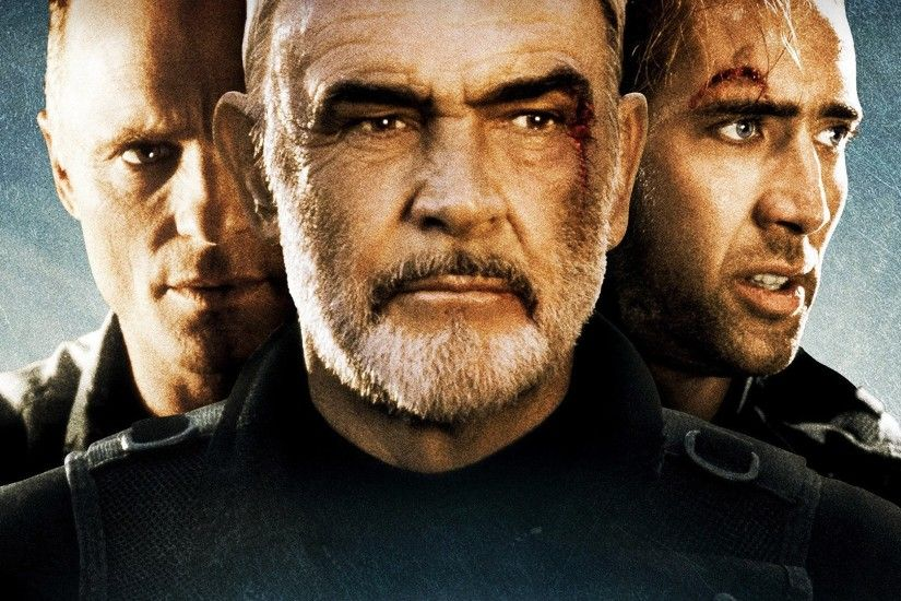 Movie - The Rock Nicolas Cage Sean Connery Wallpaper