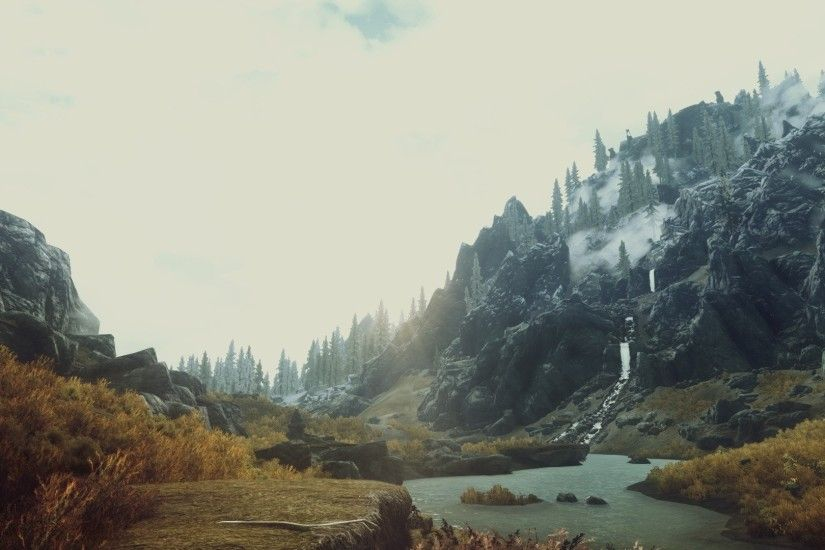 Video games nature screenshots The Elder Scrolls V: Skyrim wallpaper |  1920x1080 | 244212 | WallpaperUP