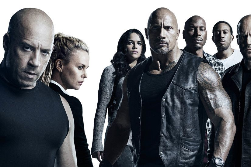 Cast Fast & Furious 8 3840x2160 wallpaper