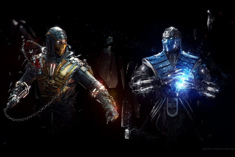 Sub Zero Vs Scorpion Mortal Kombat