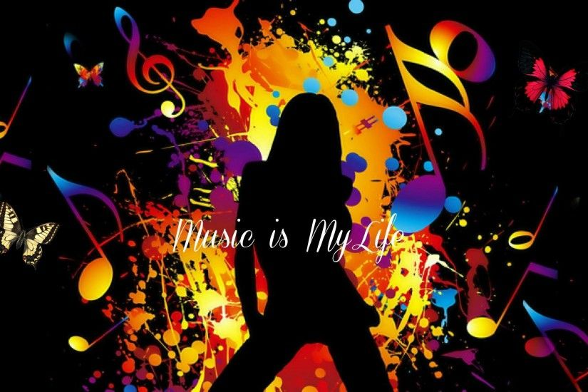 Music Is My Life HD Wallpaper #8912 Wallpaper | High Definition .