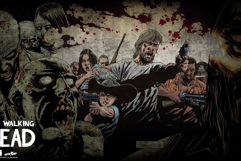 Heroes comics Zombie Men The Walking Dead TV The walking Dead Fantasy dark  horror wallpaper | 1920x1080 | 486346 | WallpaperUP