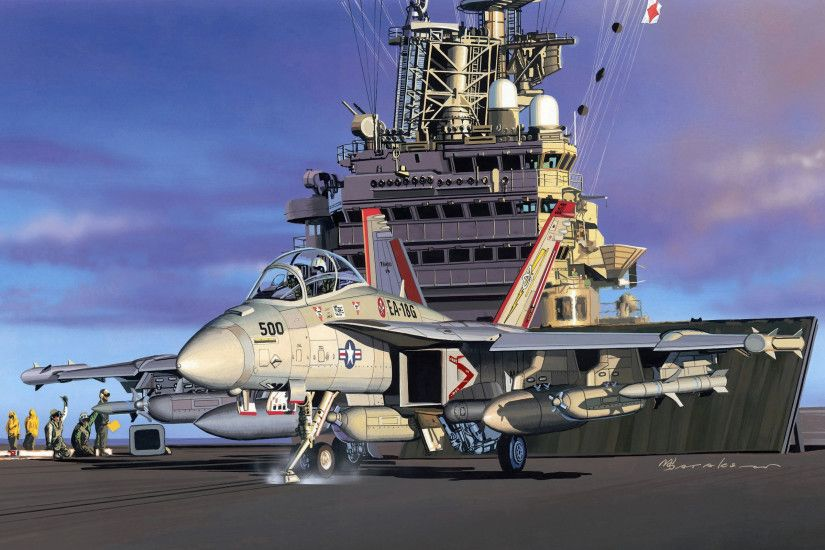 Ships ship boat Painting military navy jet jets wallpaper | 2560x1600 |  117554 | WallpaperUP