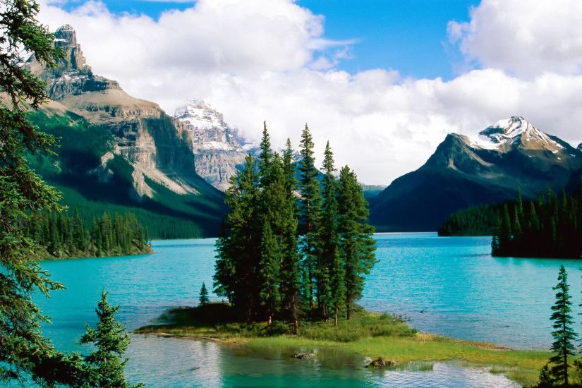 ... Download Landscape-River-Mountains-Wallpapers-Images-and Backgrounds.  Beautiful Lake ...