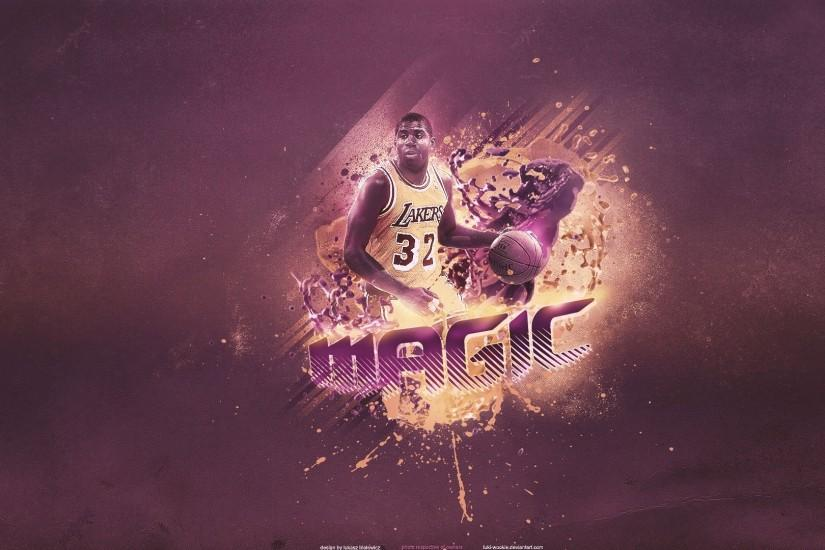 Download 'magic lakers nba wallpaper' HD wallpaper