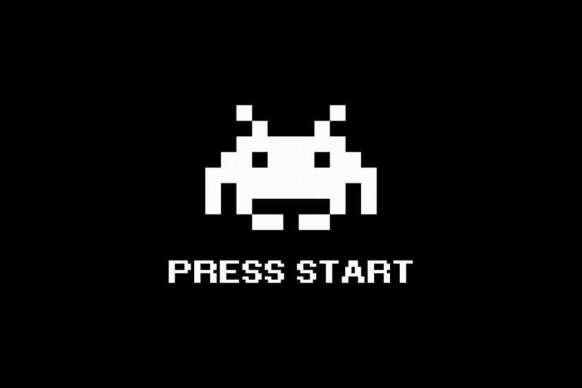 Arcade Wallpaper for Desktop - wallpaper.wiki Invader Arcade Classic Space  Invaders Wallpaper PIC WPC0011806