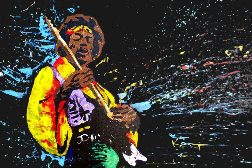Jimi Hendrix HD Wallpaper.
