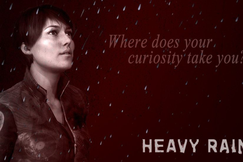 ... Madison Page - Heavy Rain Wallpaper by Crylex