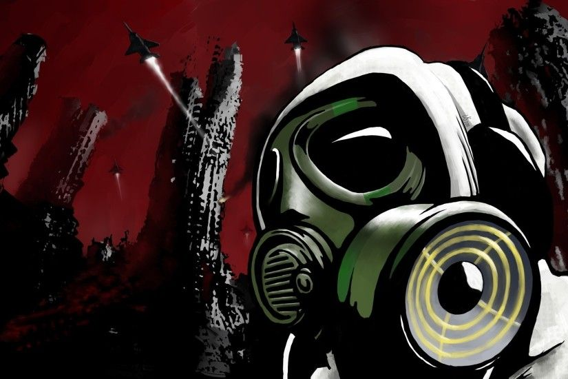 Gas Mask Full HD Wallpaper and Background | 1920x1080 | ID:178601 Dubstep  ...
