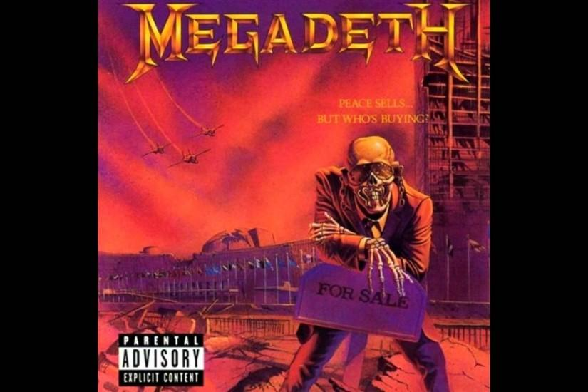... Megadeth Wallpaper Peace Sells Awesome albums: peace sells ... but who .