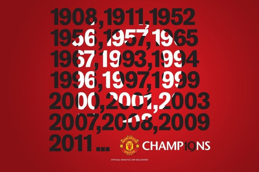 ... Manchester United Champion Wallpaper Hd Full Hd 1080P Manchester United  Wallpapers Hd, Desktop Backgrounds ...