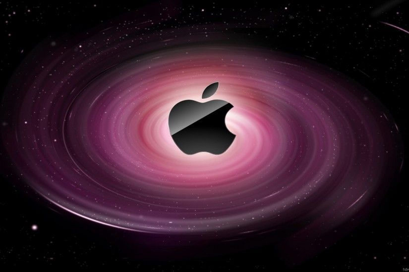 purple space apple wallpaper Wallpaper