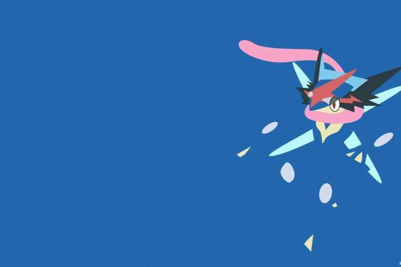 Minimalistic Ash's Greninja : wallpapers