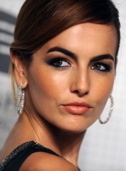 Camilla Belle in Dior black evening gown with sweep train | Guggenheim  International Gala Dinner Made