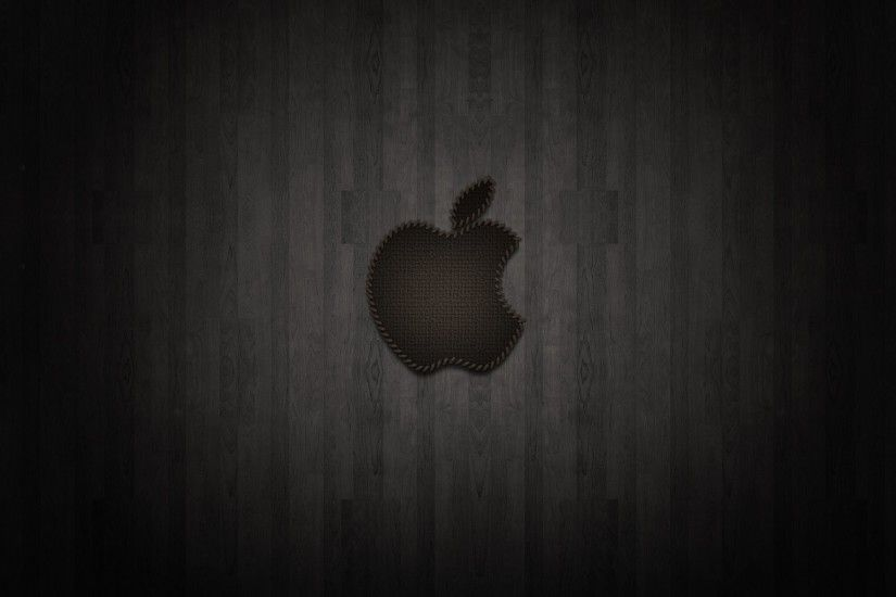 Apple Black Backgrounds Desktop Photo Widescreen Amazing Mac Wllpapers
