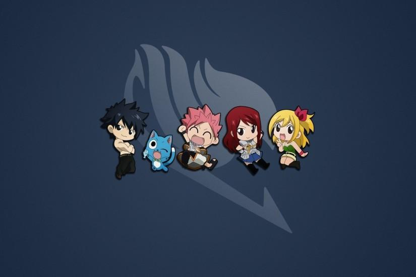 Cute Fairy Tail characters wallpaper #14381