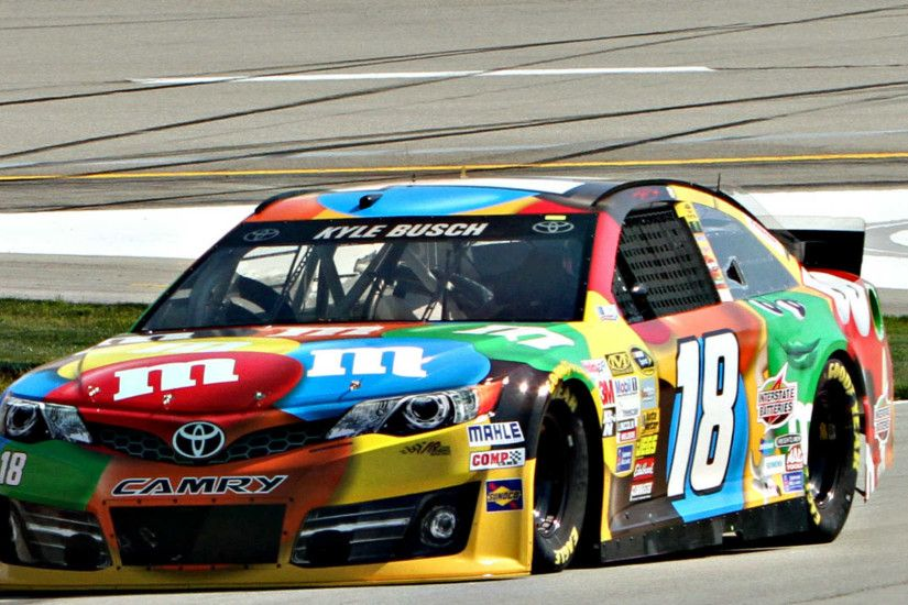 Sponsor M&Ms to remain with Kyle Busch, Joe Gibbs Racing | NASCAR |  Sporting News