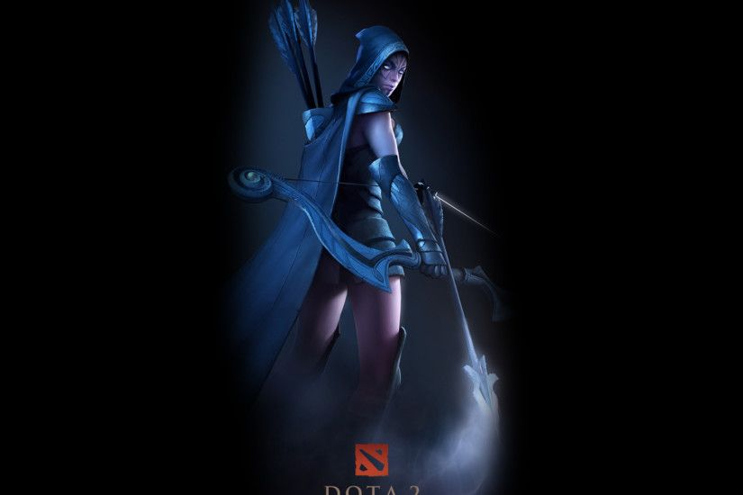 Video Game - DotA DotA 2 Drow Ranger (DotA 2) Game Archer Wallpaper