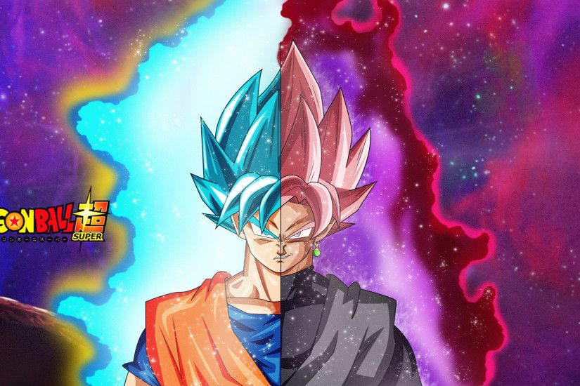 Anime - Dragon Ball Super Goku SSGSS Goku Black (Dragon Ball) Black Goku SSR