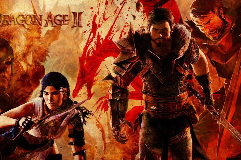 Dragon Age 2 - Dragon Age: Origins Wallpaper (30421547) - Fanpop