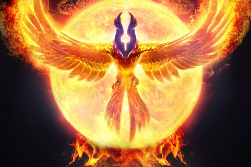 ... Phoenix Bird Wallpapers - Wallpaper Cave | Free Wallpapers .